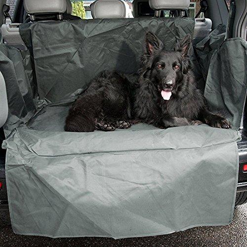 Grey Car Boot /& Bumper Cover Liner Mat Waterproof Dog Pet Protector R3