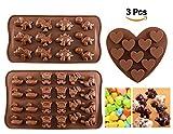 Schokoladenformen - Joyoldelf Silikon Süßigkeiten Gelee Süßigkeiten Formen...