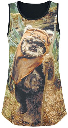 Star Wars Ewok Girl-Top multicolour Multicolour