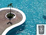 Schwimmbecken Dichtschlämme Pool Abdeckung Beschichtung Schwimmbad Dichtmittel für 2K Epoxy 1KG