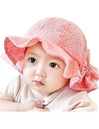 7f3d5a107d5 Rrimin Toddler Infant Sun Cap Summer Outdoor Baby Girl Sun Beach Bucket Hat  4 Colors