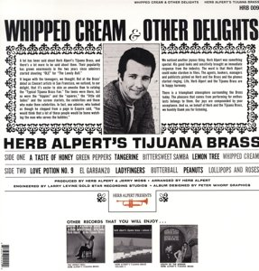 Whipped Cream & Other Delights (180 Gram Vinyl)