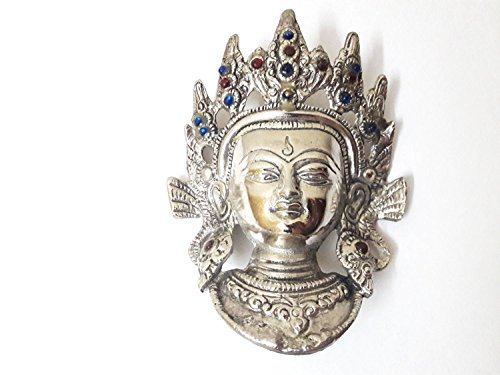 Clouds Gallery Tara Devi Head Wall Hanging Mask /Decorative Wall Sculpture For...