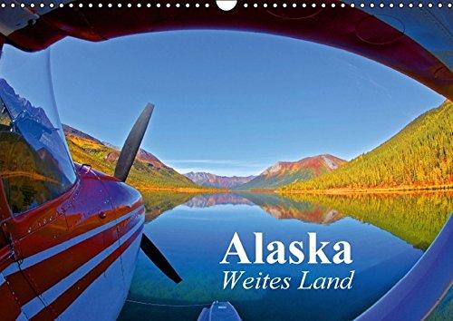 Alaska - Weites Land (Wandkalender 2016 DIN A3 quer): Die Schönheit der Natur am Ende der Welt (Monatskalender, 14 Seiten) (CALVENDO Natur)