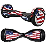 MightySkins Protective Vinyl Skin Decal for Razor Hovertrax 2.0 Hover Board Self-Balancing Smart Scooter Wrap Cover Sticker Skins (American Flag)