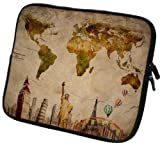 art&cherry Designer Laptoptasche Notebooktasche in 13 Zoll auch in 10 Zoll / 14 Zoll / 15 Zoll / 17 Zoll erhältlich Sleeve Neopren Schutzhülle Netbook Tablet Cover Hülle Ipad 082