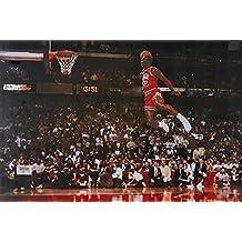 Póster de Michael Jordan Amazing Dunk raras caliente nueva 24x 36