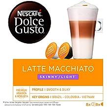 NESACAFÉ Dolce Gusto | Capsulas de Café Latte Macchiato Light - Pack de 3 x 16
