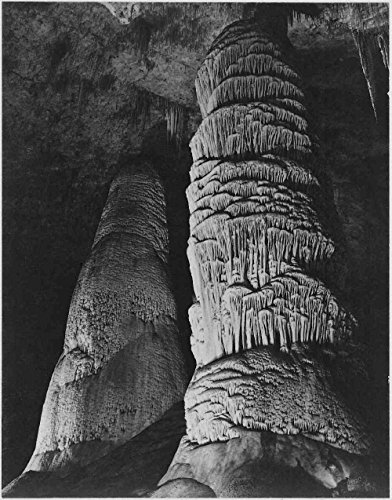 Das Museum Outlet - Adams - Carlsbad Caverns National Park New Mexiko 3, gespannte Leinwand Galerie verpackt. 29,7 x 41,9 cm