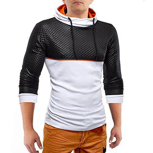 Maglioni Longsleeve BodyRock ID1170 (2 colori), Farben:Weiß;Größe Pullover:M