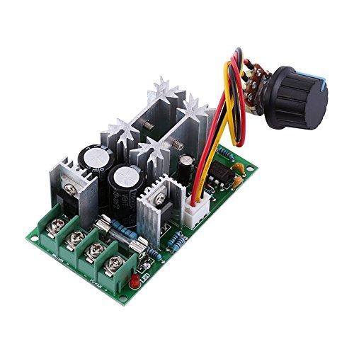 PWM DC Motor Geschwindigkeitsregler 12V 24V 36V 48V 20A DC Motor Treiber Modul Hochleistungs Stromregler (Dc-motoren Arbeiten)