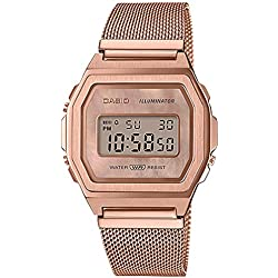 Casio G-Shock Men's A1000MPG-9VT Digital Watch Pink Gold