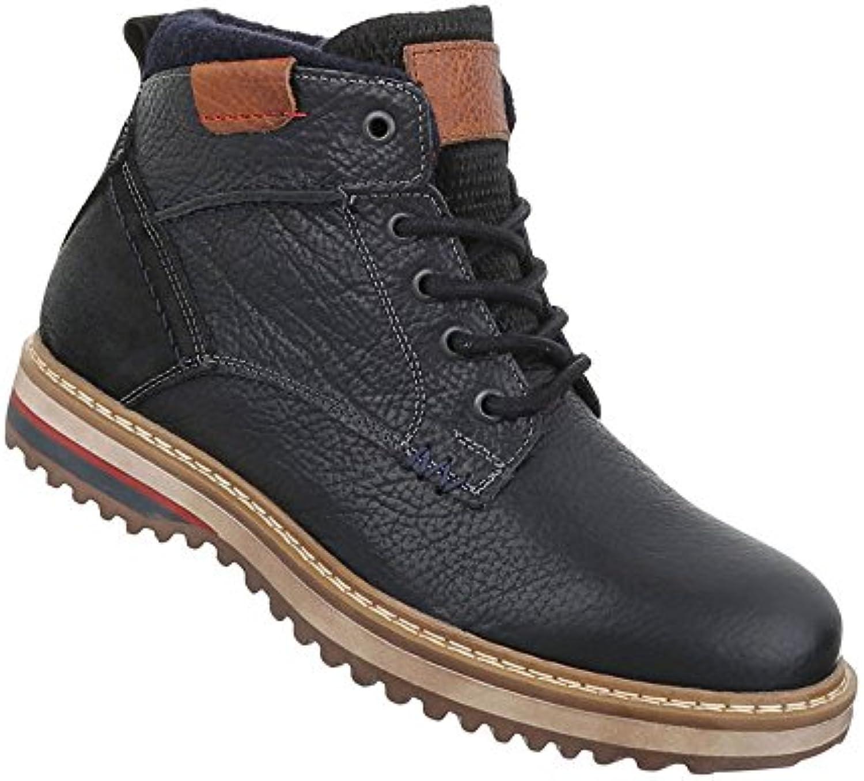 Herren Schuhe Boots Leder SchnürerHerren Schuhe Boots Schnürer Schwarz Billig und erschwinglich Im Verkauf