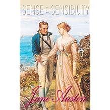 Sense and Sensibility : Beautiful colored illustrations (Illustrated ) (English Edition)