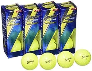 Srixon AD333 - Standard Golf Balls Color: Yellow