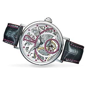 Davosa Mechanical Skeletal Grande Diva Stainless Steel Wrist Watch