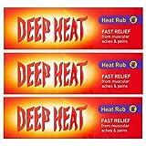 3 X Deep Heat Calor Frotar 100g (300g TOTAL)