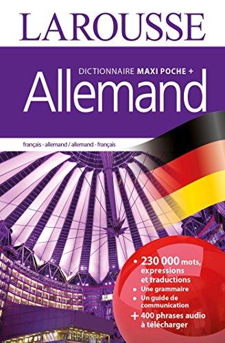 Dictionnaire Larousse maxi poche plus Allemand (Bilingue allemand) por Collectif