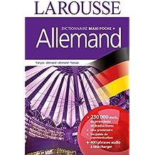 Dictionnaire Larousse maxi poche plus Allemand
