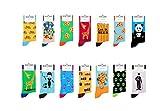 Socken berühmten Motiven, Gemälden & Personen - Unisex Mann Frau trendy Design/Größe 36 – 45 / Strümpfe Socks Socke Strumpf Hipster Malerei Painting lustig bunt witzig (Rugby)