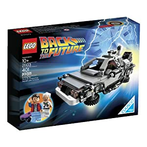 LEGO 21103 The DeLorean Time Machine Lego DeLorean Back to the Future LEGO Ghostbusters LEGO
