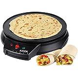 Aicok Crepe Maker Machine, 1000W Pancake Maker, Pancake Machine With 12 Inch Non