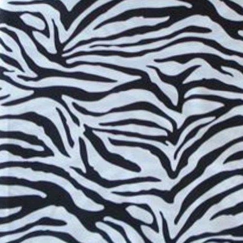Black White Microfiber Zebra XL Twin Sheet Set (3 Pc Set) by Mainstays