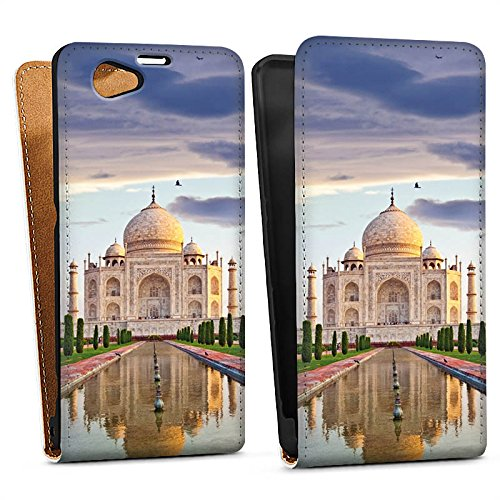 sony-xperia-z1-compact-case-protective-cover-wallet-case-book-style-taj-mahal-building-mausoleum