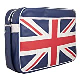 Urban Factory Vintage Collection Union Jack Tasche für 30,5 cm Laptop