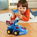 Tonor Rennauto Ferngesteuertes Spielzeugauto für Kleinkinder und Kinder Kindergeschenk Blau -