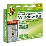 Duck Brand 282450 Indoor Extra Large Window/Patio Door Shrink Film Kit, 84-Inch x 120-Inch by Duck