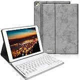BAIBAO Coque Clavier pour iPad 2018, Clavier Bluetooth Français pour iPad Air...