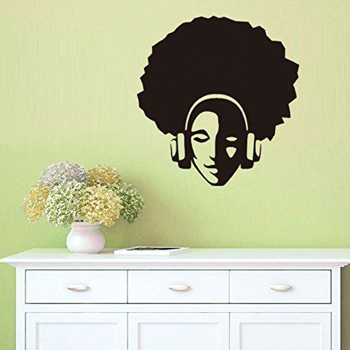 3D Wandaufkleber Wandtattoo Selbstklebend Euro-Amerikanische Hip-Hop-Figur Wandaufkleber Wohnzimmer Hintergrund Wandaufkleber