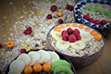 Batriozo Einzigartige Kokosnussschale – Gold – Hochwertige Dekoschale – 100% Handgemacht und Umweltfreundlich – Vielseitig Einsetzbar – Coconut Bowl - 5