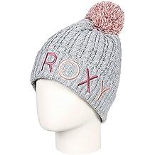 Roxy - Gorro con pompón - Mujer - One Size - Gris c01839ee82b