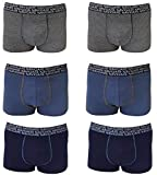 Navigare Boxer Uomo Intimo Cotone Elasticizzato Underwear Pacco da 6 (L/6)