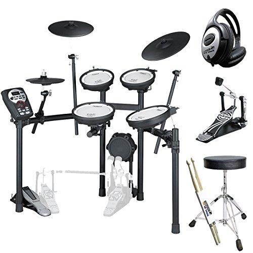 Roland TD-11KV E-Drum Schlagzeug + Pedal + KEEPDRUM Zubehör