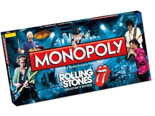 Preisvergleich Produktbild Monopoly Rolling Stones Board Game