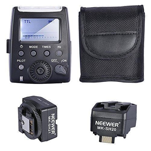Neewer® MK-300 TTL LCD Flash Speedlite Biltz Blitzgerät Spedlite für Sony Kamera, wie Sony NEX3/NEX5/NEX6/A7/A7R/A7S/A6000/A33/A35/A37/A55/A57/A58/A77/A99