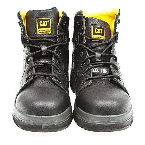 Caterpillar Dimen Hi Sb, Chaussures de Sécurité Homme Noir - noir