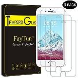 FayTun Schutzfolie für iPhone 6/6S iPhone 7 iPhone 8, 3 Stück Panzerglas für iPhone 7 8 6/6S-3D Touch Kompatibel, 9H