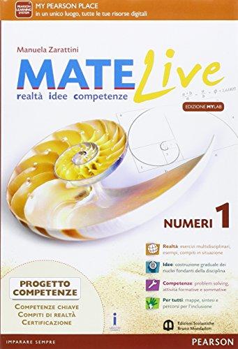 Matelive. Ediz. mylab. Per la Scuola media. Con e-book. Con espansione online: 1