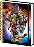 Avengers Carnet Bloc-Notes - Infinity War, Space Montage Holographic (21 x 15 cm)