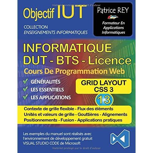 DUT Informatique : Tome 13, Grid Layout, avec Visual Studio Code