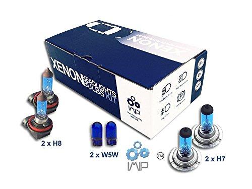 Xenon Effekt Auto Lampen Scheinwerfer HB4W5W H7H7, 8er Pack