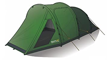 Regatta Vester 4- Man Family Tunnel Tent Darkened Bedroom 10 Minute Pitching Time Waterproof Fire Sc 1 St Amazon UK  sc 1 st  memphite.com : regatta 4 man family tent - afamca.org
