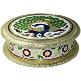 Tejyoti Crafts Handicrafted Handicraft Dry Fruit Box,Mouth Freshner Box, Serving Tray, Decorative Platter, Festive Decor, Wedding Gifts, Decorative Items