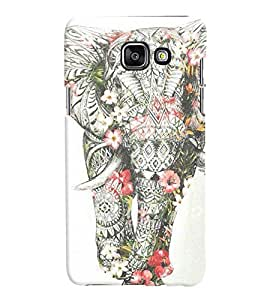 Samsung Galaxy A7 2016 MULTICOLOR PRINTED BACK COVER FROM GADGET LOOKS