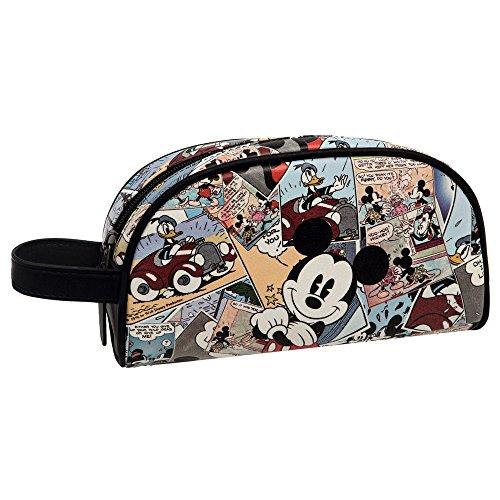 Disney Mickey Comic Neceser de Viaje, 26.78 Litros, Color Varios Colores