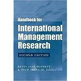 Handbook for International Management Research